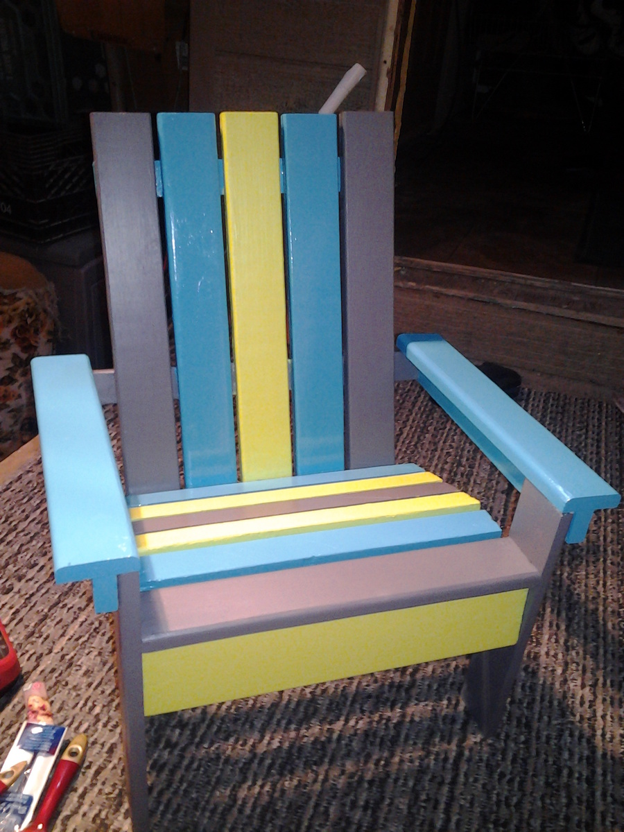 adirondack chair diy ana white tables and chairs for restaurant kids projects