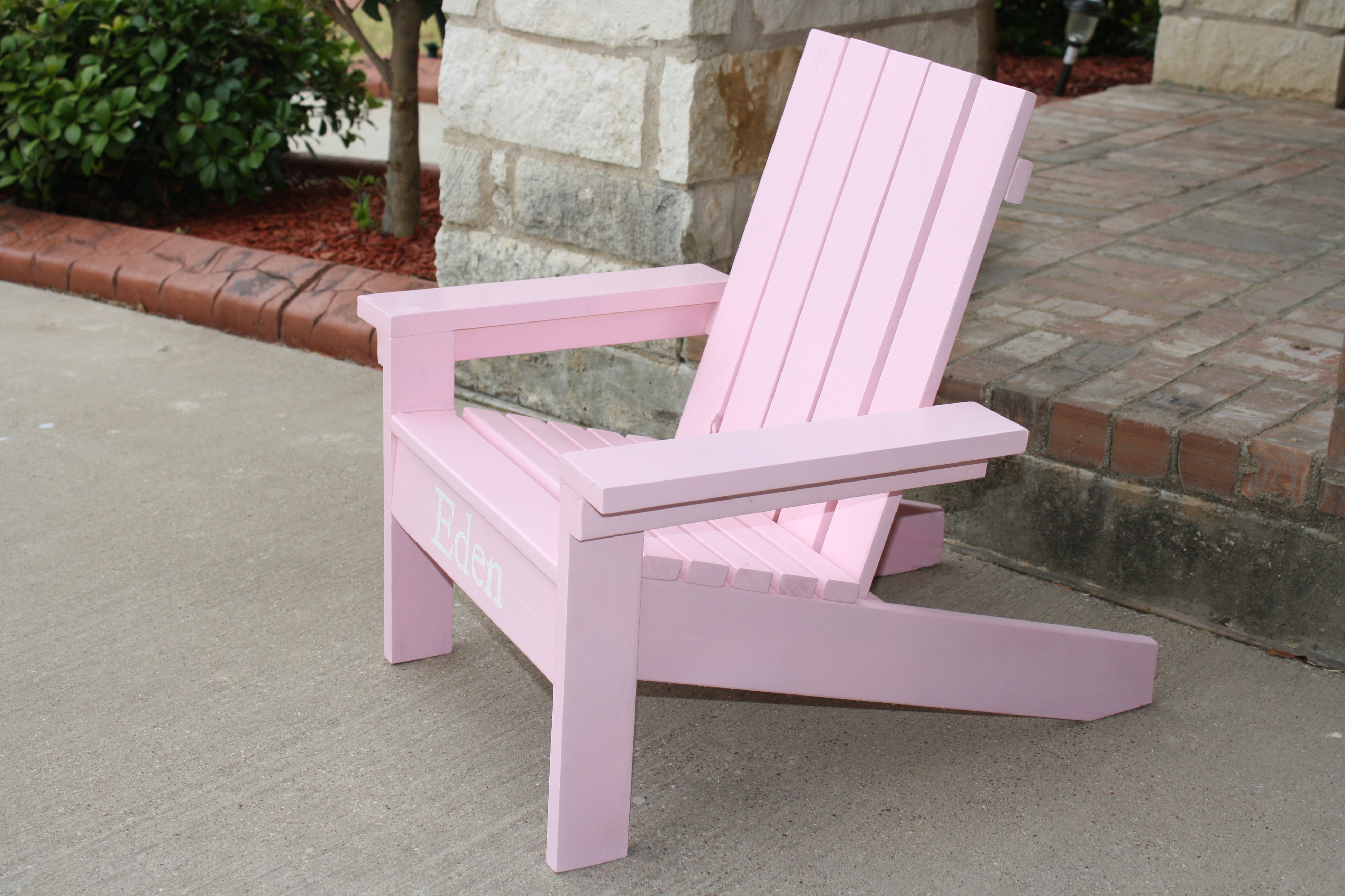 adirondack chair diy ana white old hickory tannery little projects