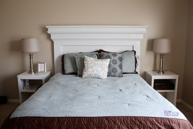 ana white | mantel moulding headboard - diy projects