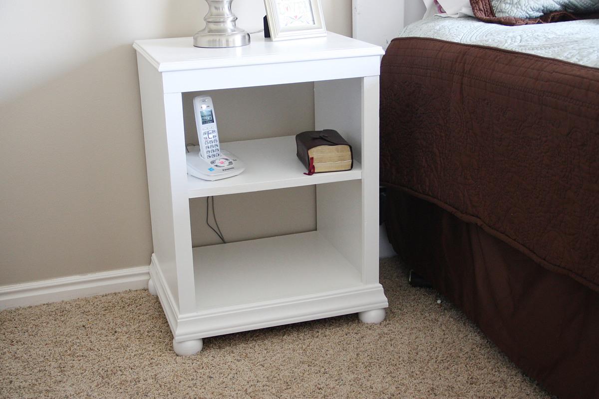 Katie Nightstand Open Shelf  Ana White