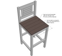 Wooden Bar Stool Plans | www.imgkid.com - The Image Kid ...