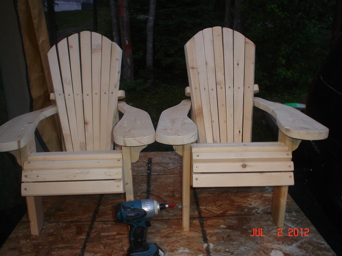 adirondack chair diy ana white wholesale recliner chairs projects