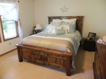 Ana White Farmhouse Queen Bed - Diy Projects