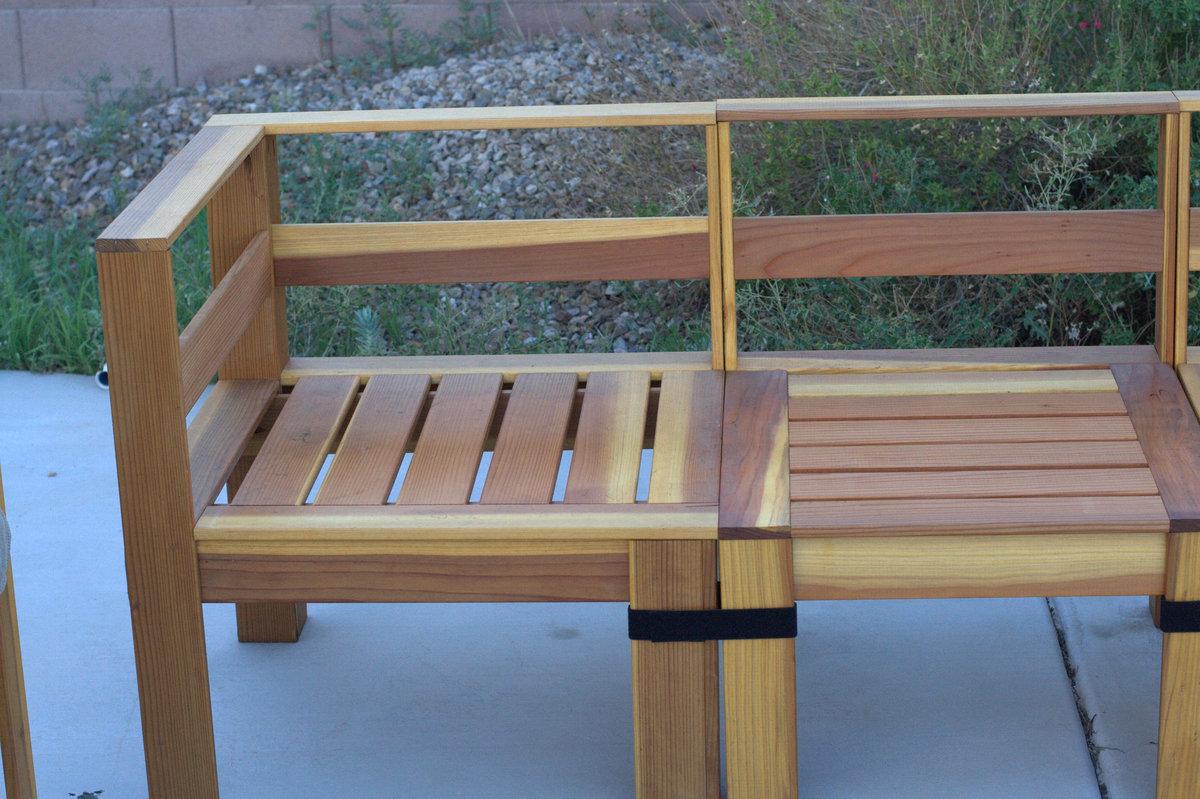 build outdoor sectional sofa baxton studio whitney set diy modern