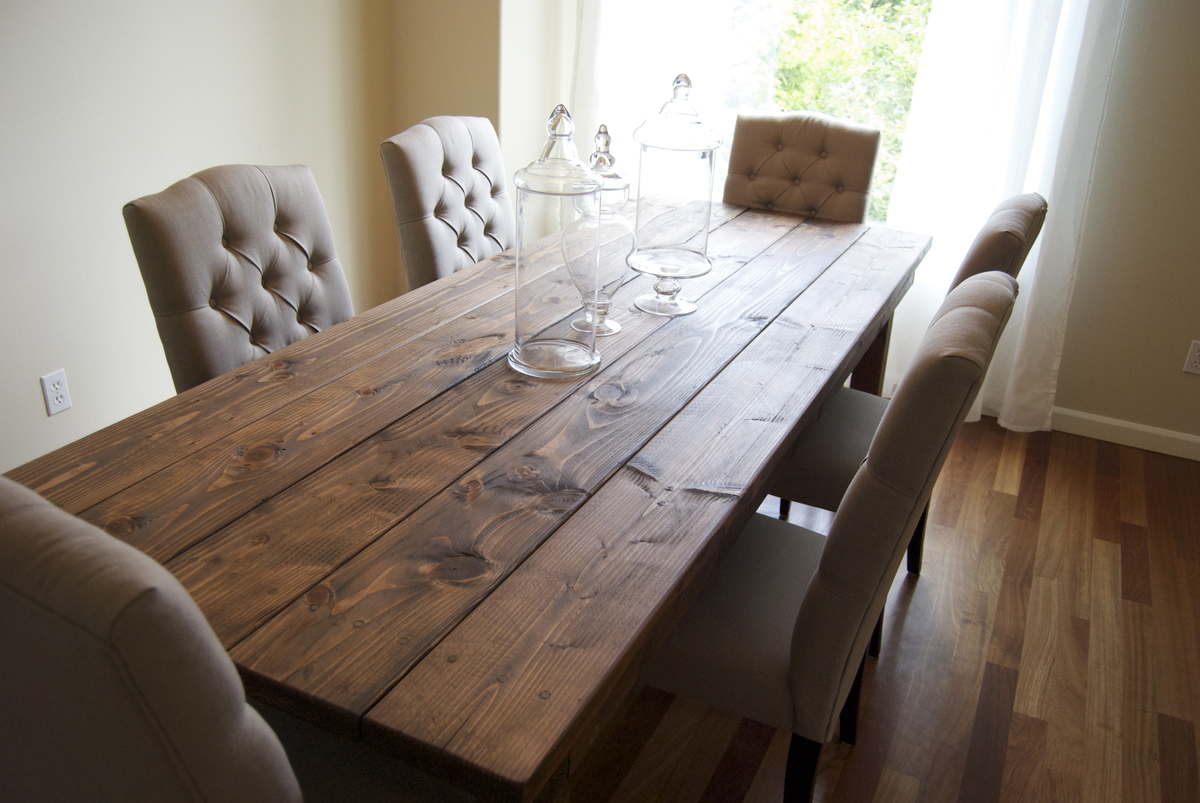 rustic farm table and chairs stacking sling chair ana white farmhouse diy projects