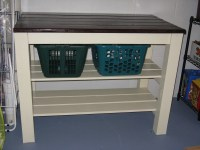 Ana White   Laundry area table - DIY Projects
