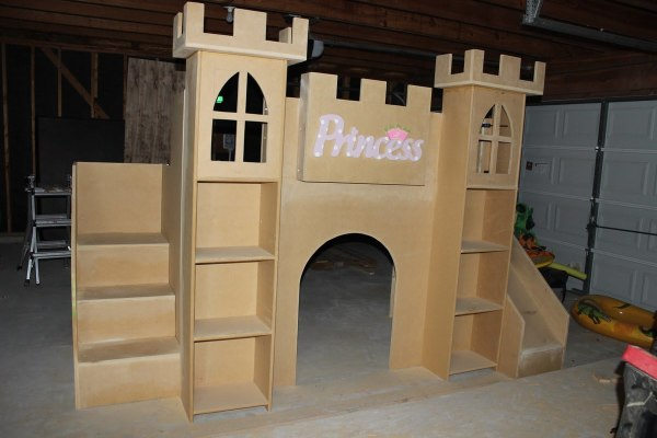 Ana White Princess Castle Bed - Diy Projects