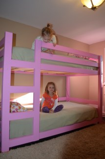 Ana White Girly Bunk Beds - Diy Projects
