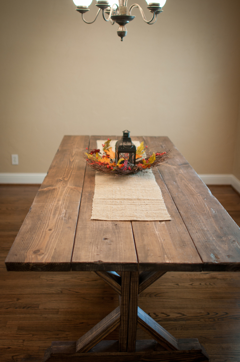 Ana White  Farmhouse X Table  DIY Projects