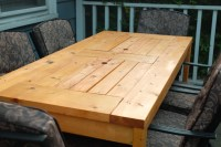 Ana White | Patio Table with Built-in Beer/Wine Coolers ...