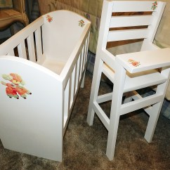 Baby Toy High Chair Set Target Armless Accent Ana White Olivia S Doll Crib And Sets Diy Projects