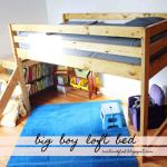 Big Boy Toddler Loft Bed Ana White