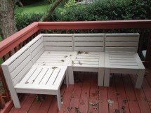 Ana White Simple Modern Outdoor Sectional - Diy Projects