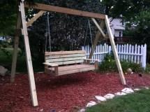 Build Diy -frame Porch Swing Stand Pdf Plans