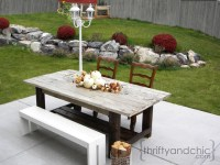 Ana White | Outdoor Farmhouse Table - DIY Projects