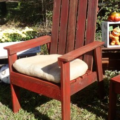 Outdoor Chair For Elderly Black Faux Leather Ana White Simple From Book Plan Diy Projects