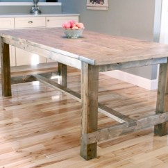 Build Kitchen Table Cabinets Doors Only Ana White Farmhouse Updated Pocket Hole Plans Diy Projects Free To A This Plan Uses Holes And Is The