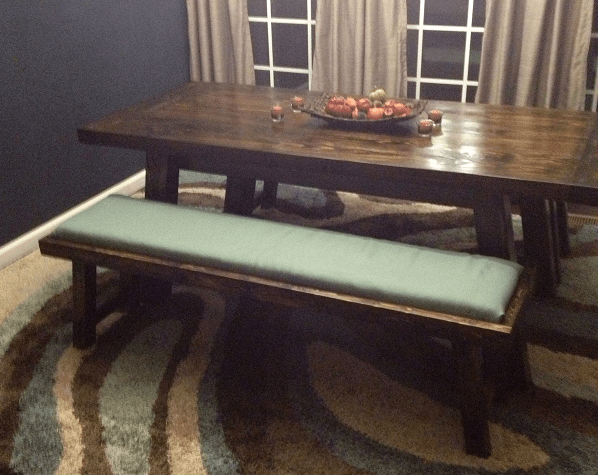 Ana White Benchwright Farmhouse Table Amp Benches DIY