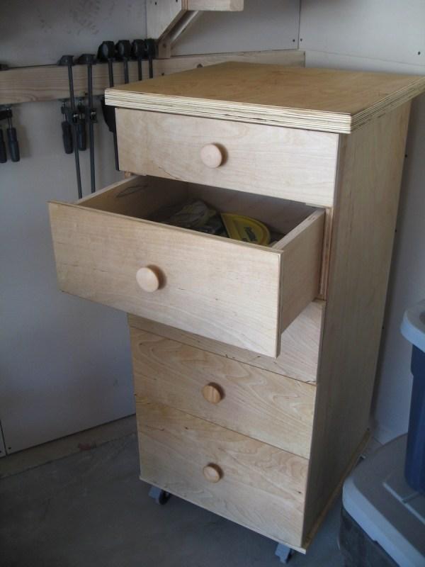 Ana White Work Storage Drawers - Diy Projects