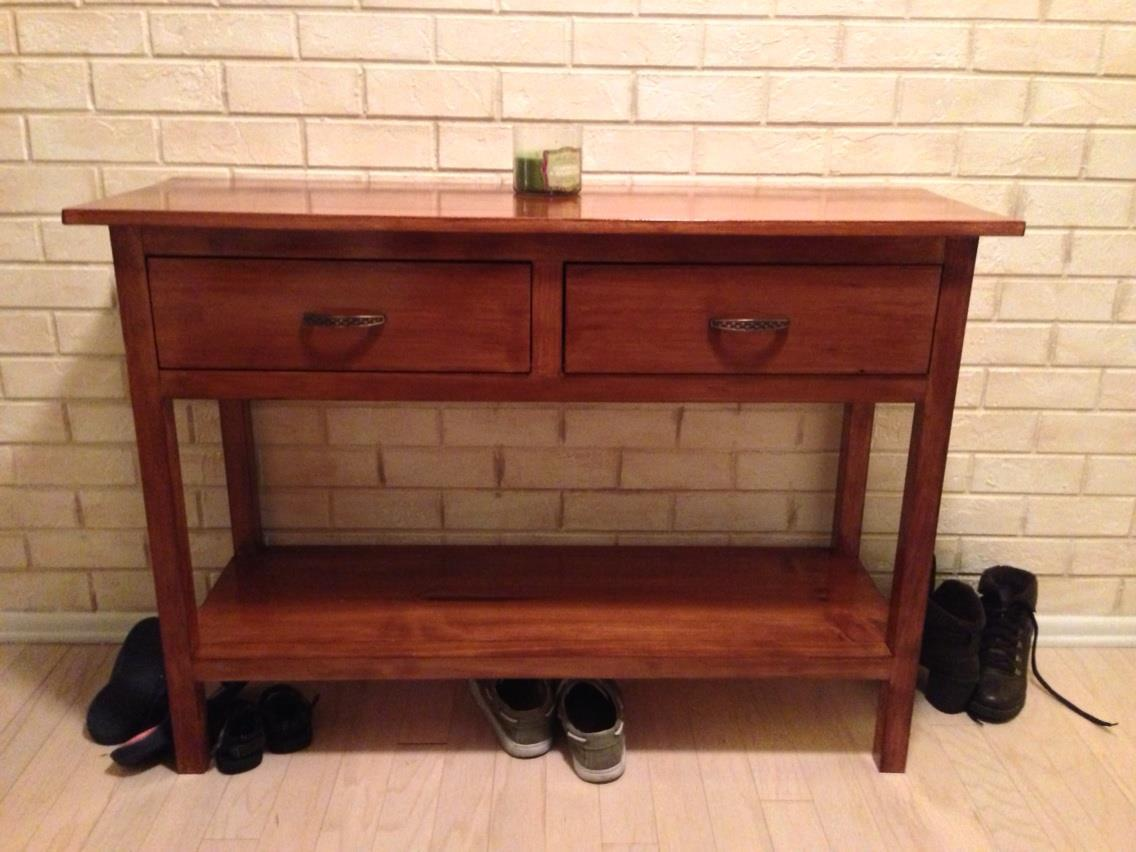 ana white sofa table where to get affordable sofas console diy projects