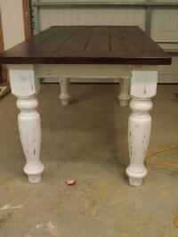 Farmhouse table legs  Furniture table styles