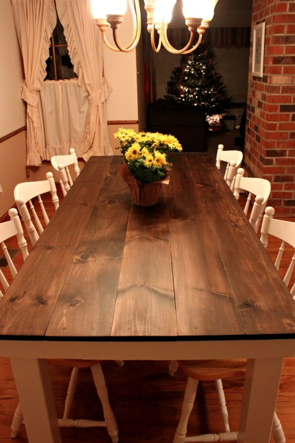 Ana White Farmhouse Table - Diy Projects