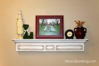 Ana White | 4-Foot Mantel Wall Shelf - DIY Projects