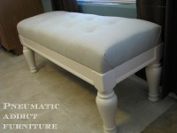 Ana White | Tufted Upholstered Benches - DIY Projects