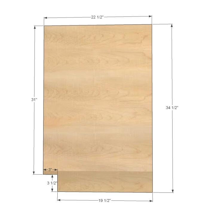 Cut List For Corner Base Kitchen Cabinets