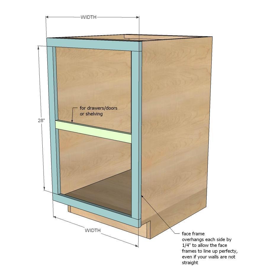 How To Make A Cabinet Frame Amatframe Co