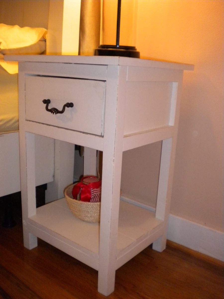 Ana White Farmhouse Side Tables Diy Projects