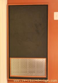 Ana White | Ugly Furnace Panel~ Chalkboard Cover - DIY ...