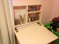Ana White | Flip down art desk - DIY Projects