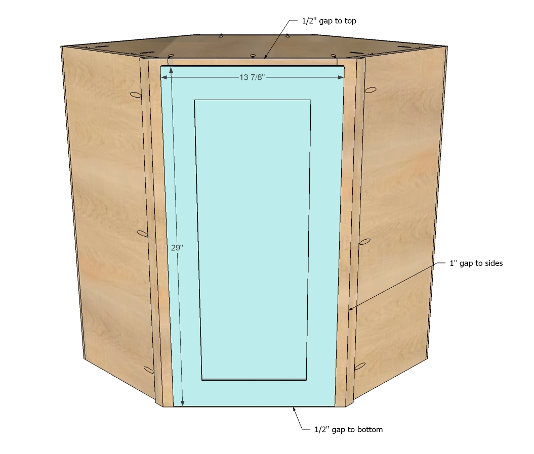 corner cabinet for kitchen cost of painting cabinets professionally ana white wall diy projects