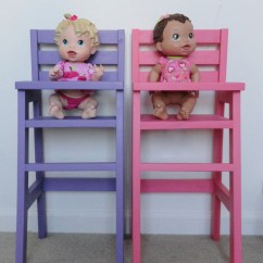 Baby Boy Doll High Chair Gym Workout Guide Manual Diy Do It Your Self