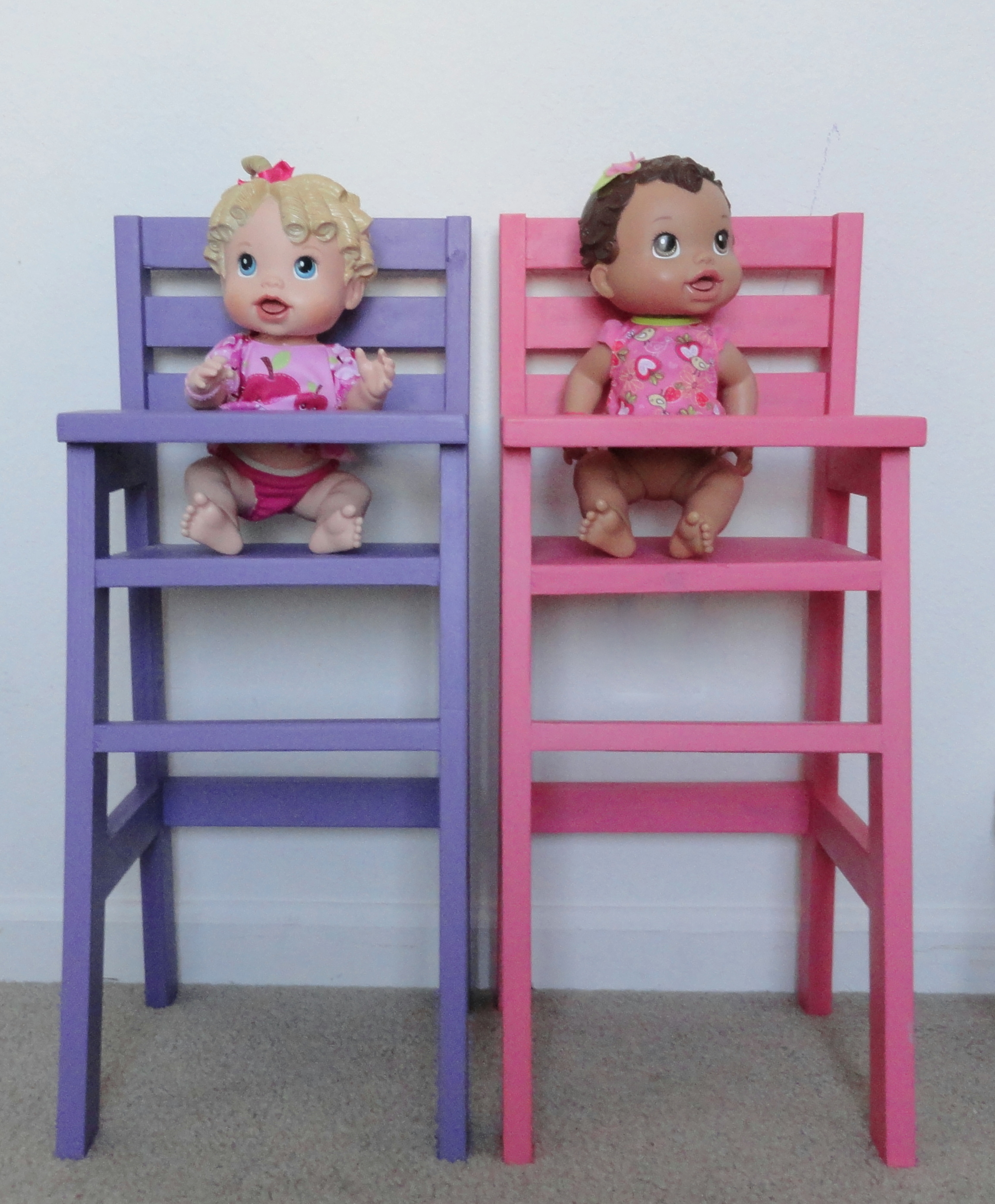 baby toy high chair set outdoor metal diy doll do it your self