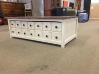 Ana White | APOTHECARY COFFEE TABLE WITH TRUNDLE - DIY ...