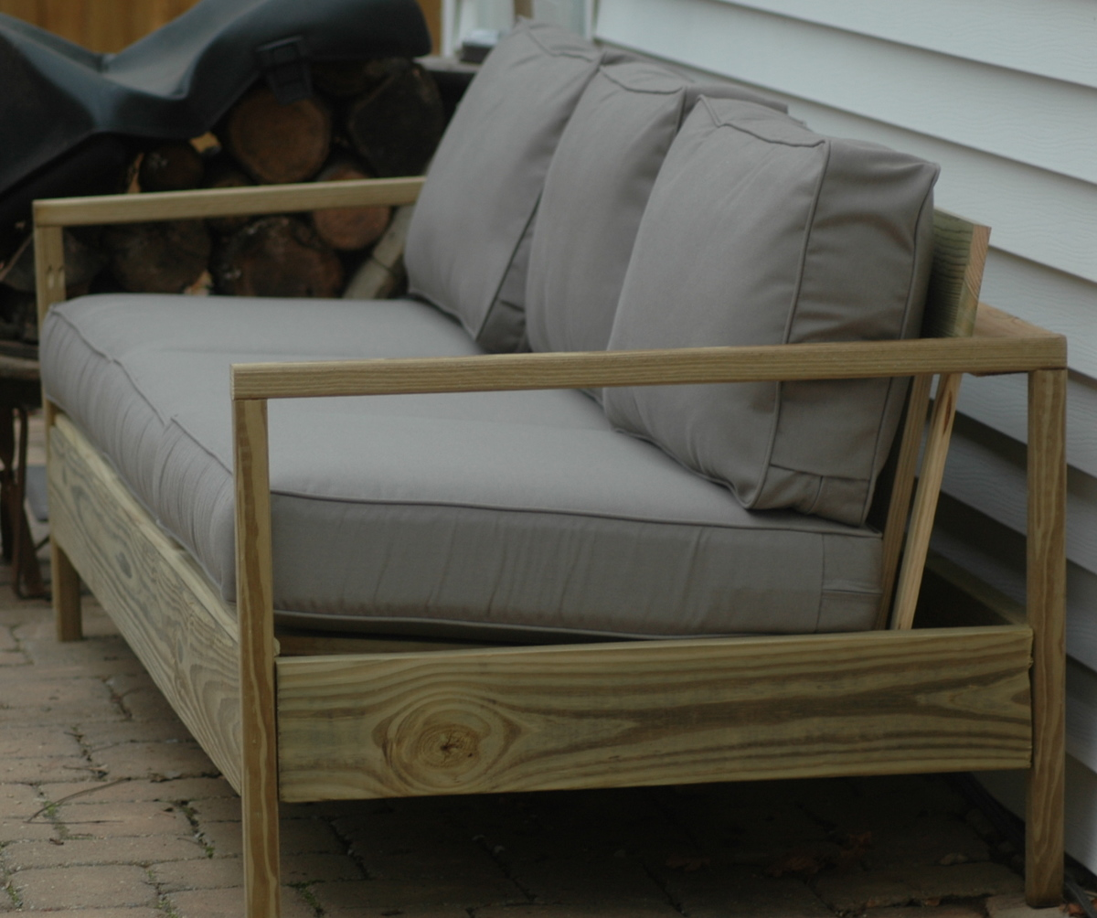 diy outdoor sofa table john lewis unfurl bed ana white 84 39 patio projects