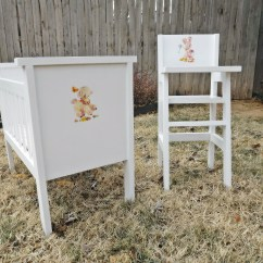 Baby Toy High Chair Set Wingback Chairs Johannesburg Ana White Fancy Doll Crib And Diy Projects