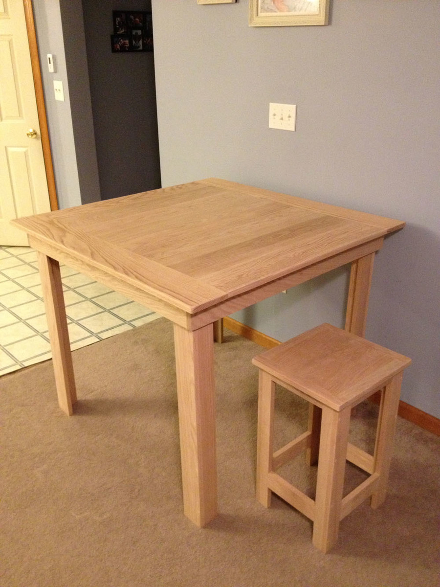 Pub Height Table DIY Plans