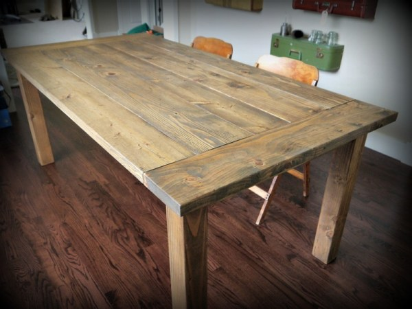 Ana White Red Hen Home Farmhouse Table DIY Projects