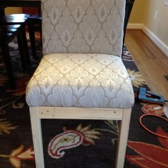 Diy Chair Slipcover No Sew Cosco Folding Chairs Ana White Parson Projects
