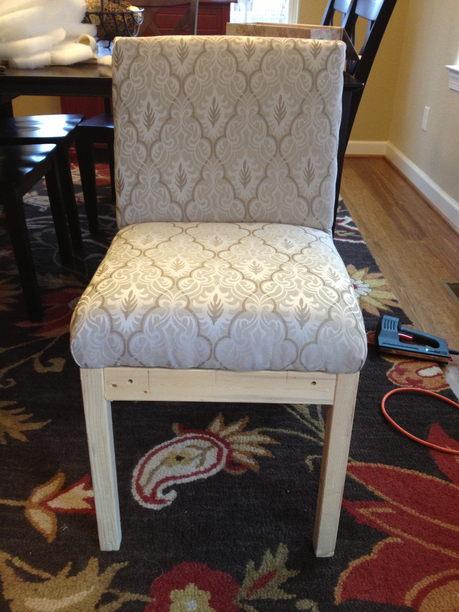 diy parsons chair covers victoria bentwood rocking ana white no sew parson projects