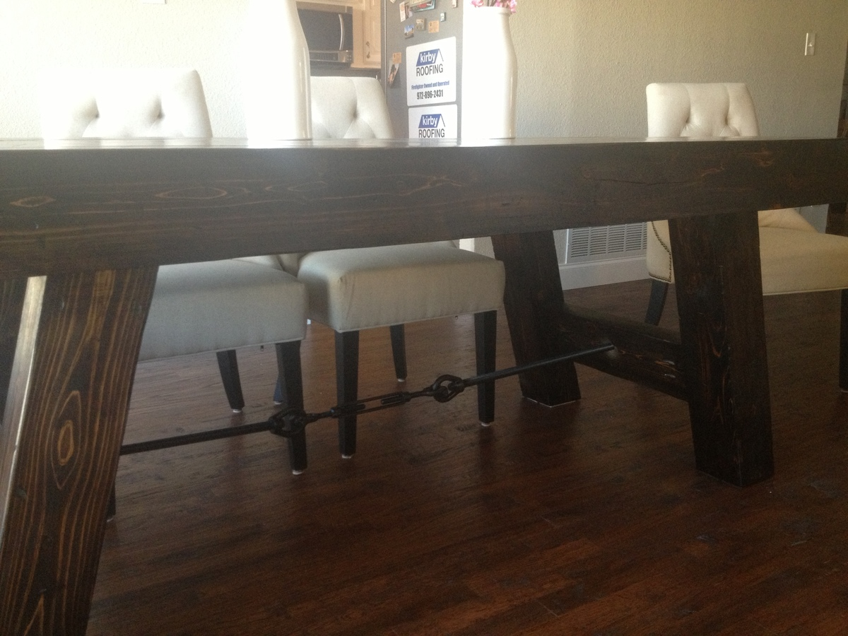 Ana White Benchwright Table DIY Projects