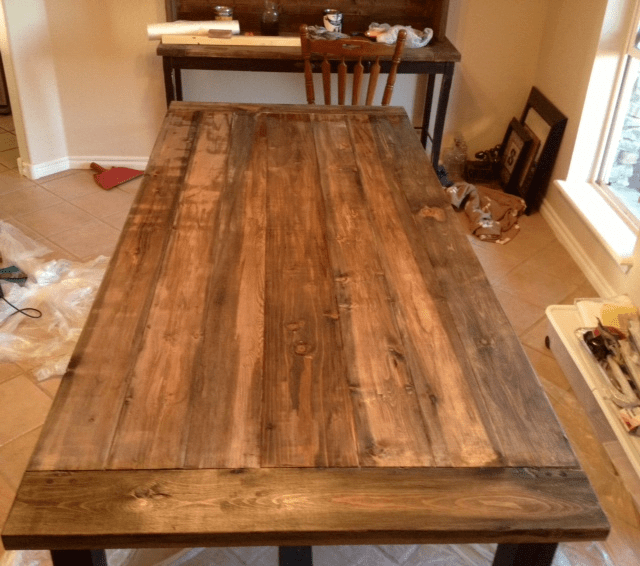 Ana White  Farmhouse Table with Hutch  DIY Projects