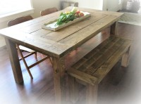 Ana White | Red Hen Home's Farmhouse Table and Bench - DIY ...