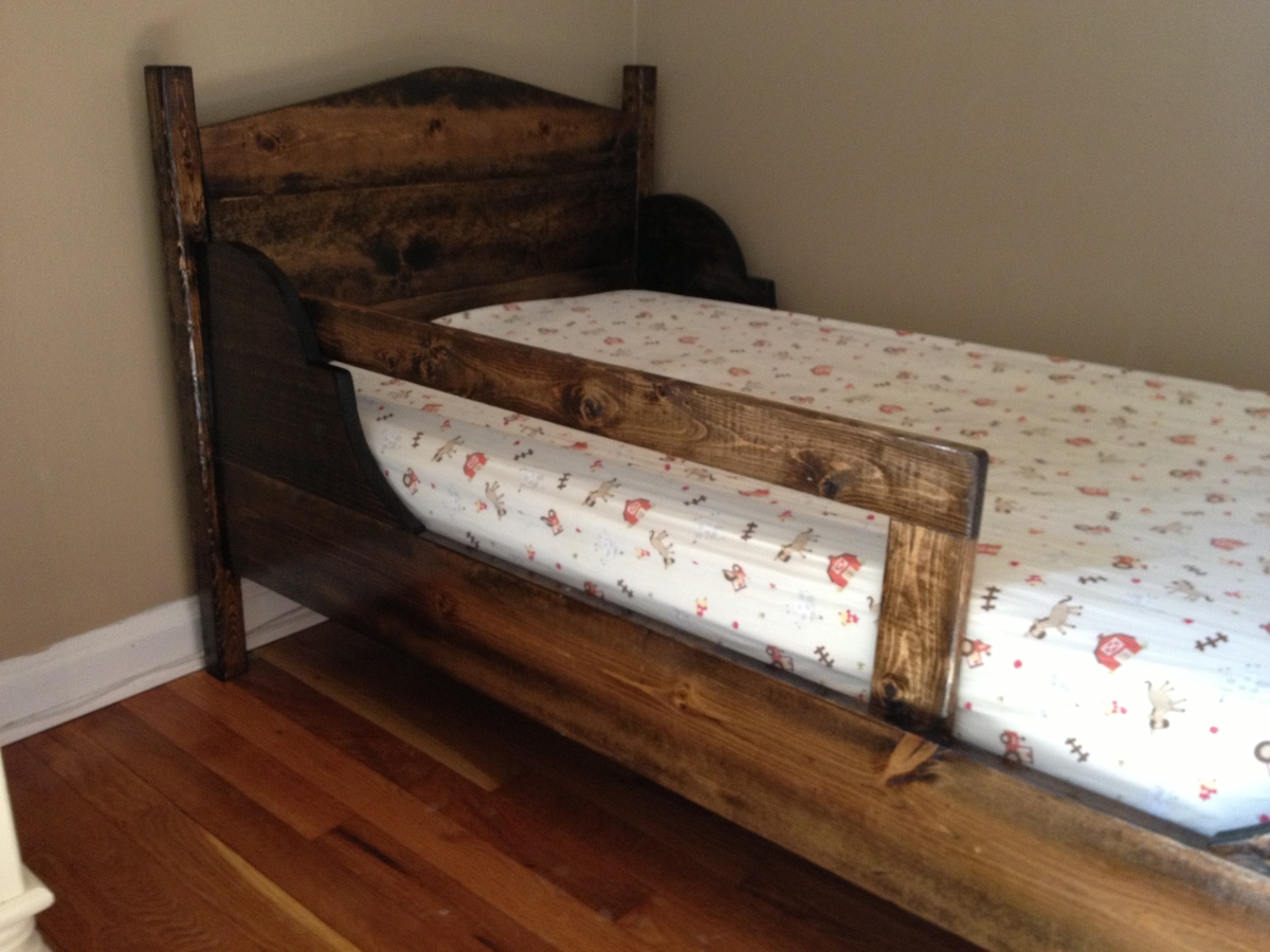 Ana White  My first toddler bed  DIY Projects