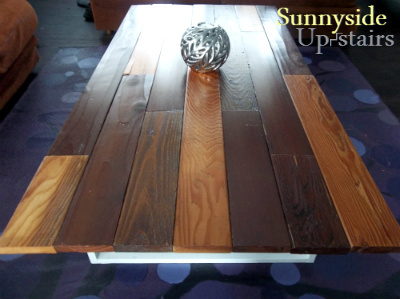 Ana White Reclaimed 1x4 Coffee Table Diy Projects