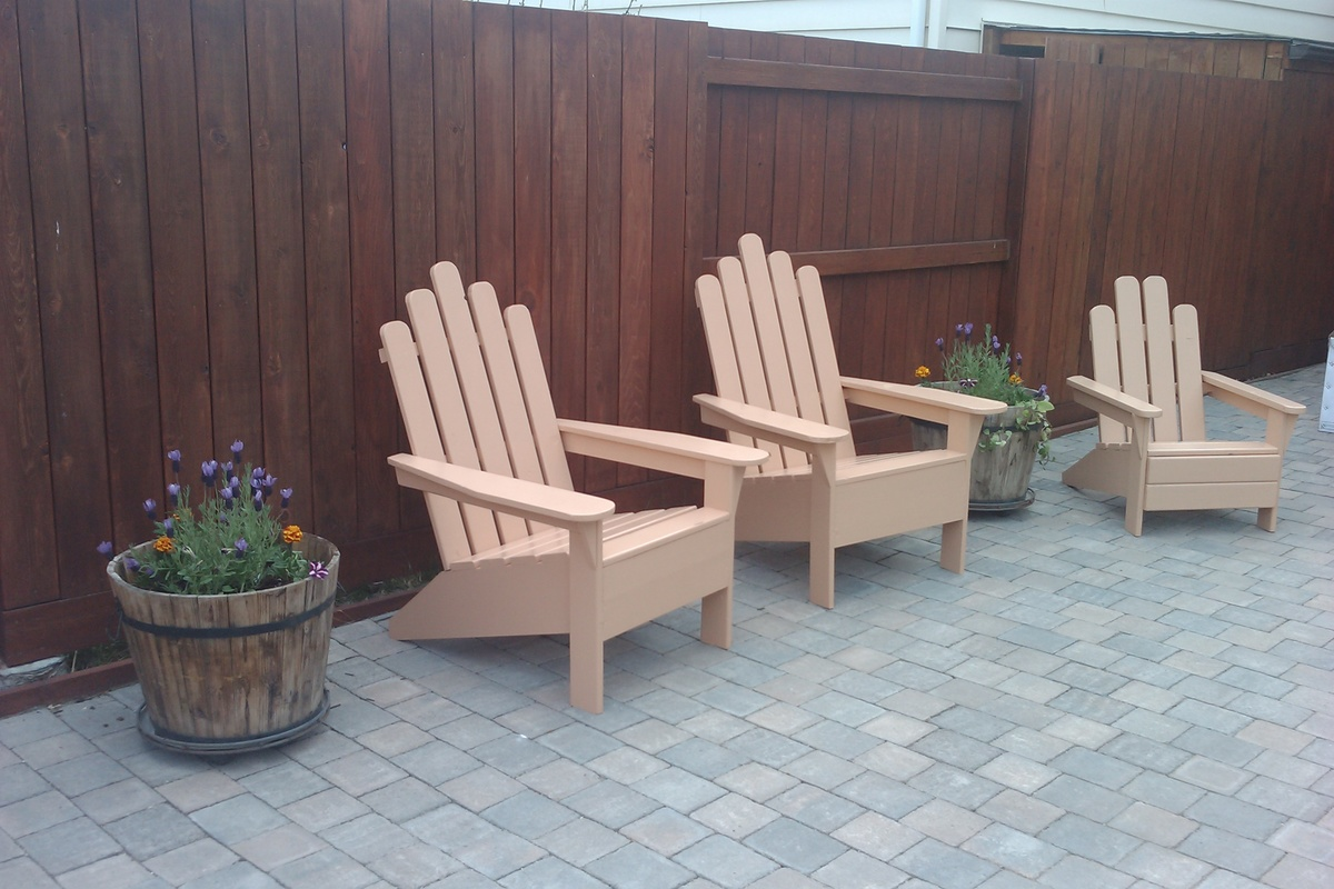 adirondack chair diy ana white revolving second hand projects