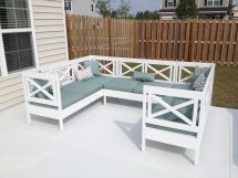 Ana White Weatherly Outdoor Sectional - Diy Projects